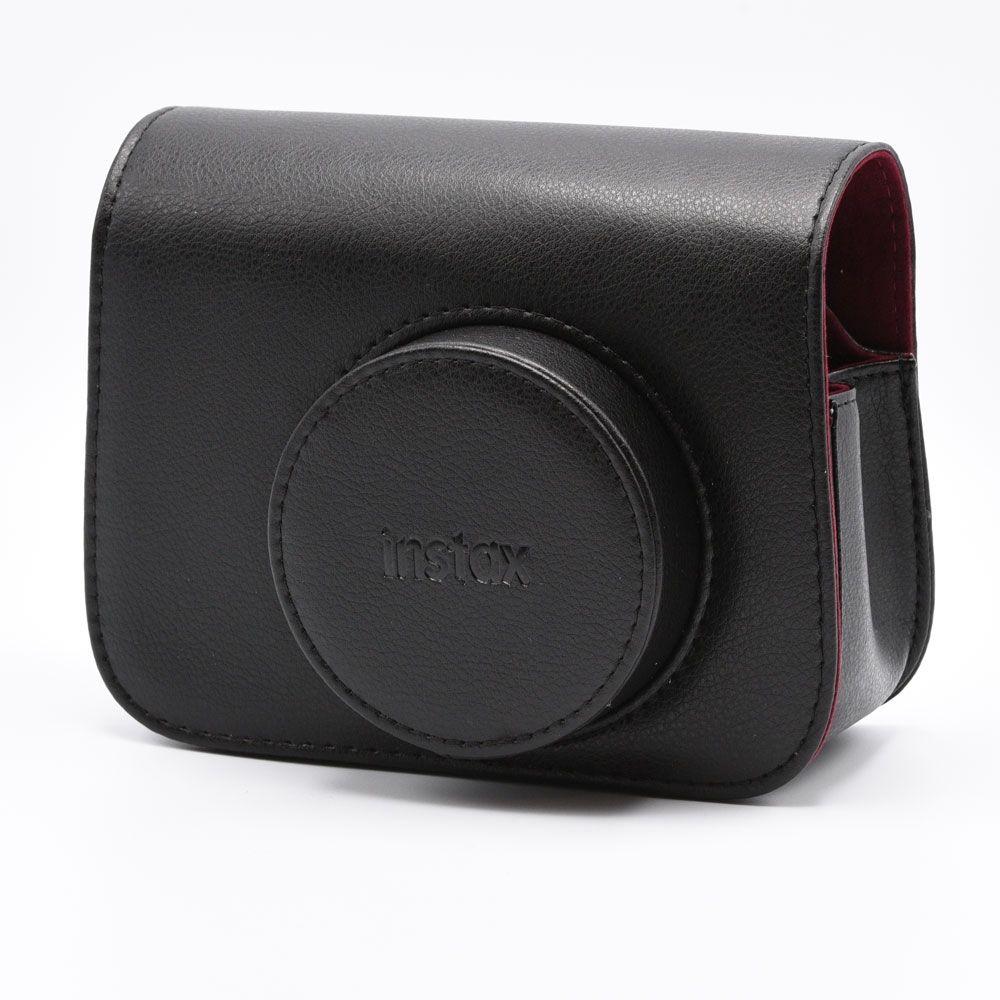 Sac en cuir pour Instax Wide 300 - Noir