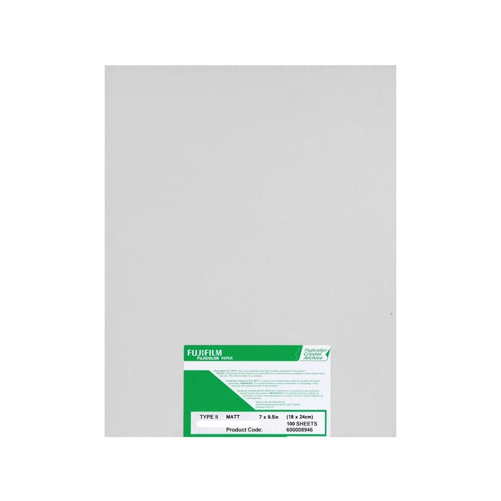 Fujifilm 17,8x24 cm - GLANZEND - 100 VELLEN - Fujicolor Crystal Archive
