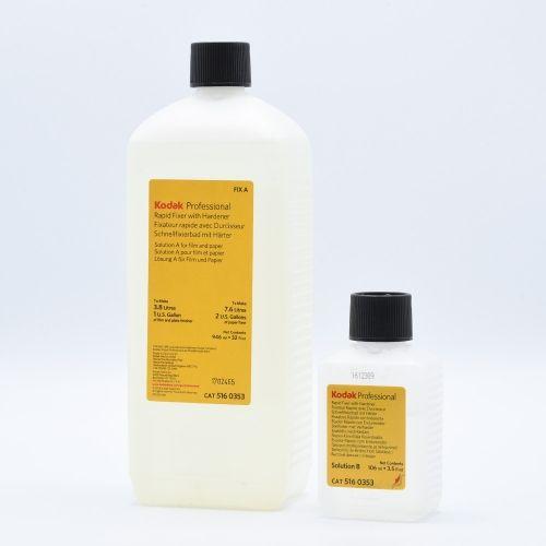 Kodak Rapid Fixer with Hardener - Part A (946ml) + Part B (106ml)