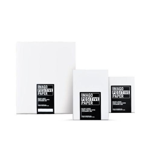 9,96x12,7 cm (4x5 INCH) - GLANZEND - 25 VELLEN - Imago Direct Positive RC