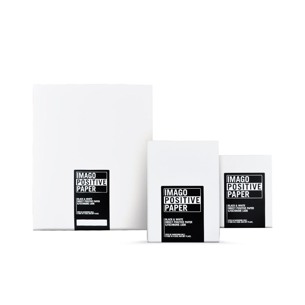 10,2x12,7 cm (4x5 INCH) - BRILLANT - 25 FEUILLES - Imago Direct Positive RC IPP04