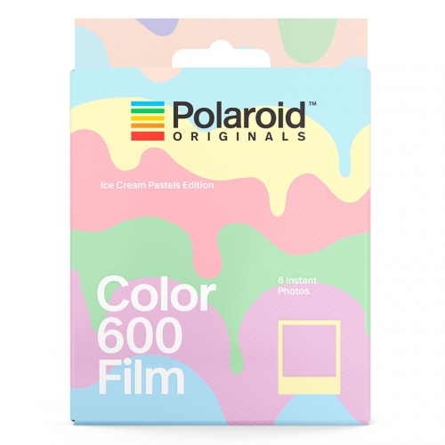 Polaroid 600 Color Instant Film - Ice Cream Pastels