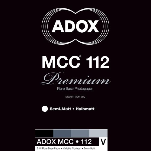 Adox 20,3x30,5 cm - SEMI-MAT - 25 FEUILLES - MCC 112 56255