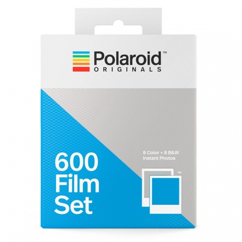 Polaroid 600 Film Set (Color/B&W)