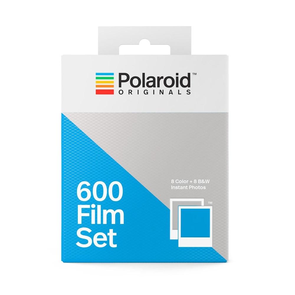 Polaroid 600 Film Set (Color/B&W)