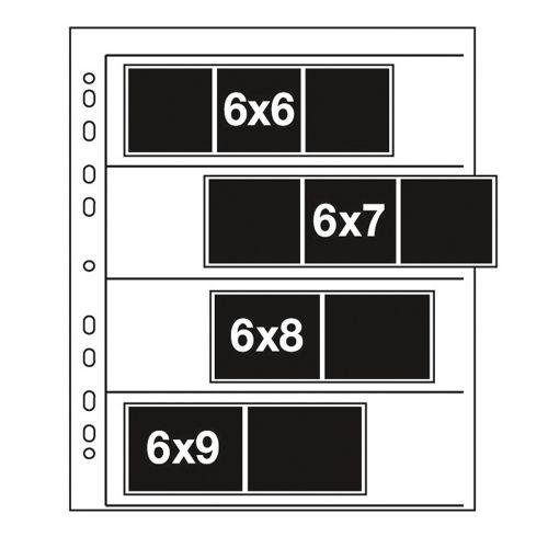 Kenro acetaat negatiefbladen 6x6-6x9 cm - 25 stuks