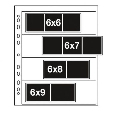 Kenro Negatiefbladen 120 Film - Acetaat - 25 stuks