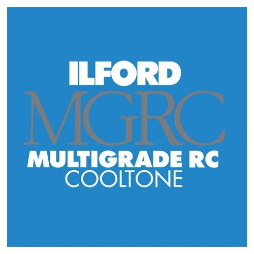 Ilford Photo 20,3x25,4 cm - GLOSSY - 25 SHEETS - Multigrade RC Cooltone HAR1168457
