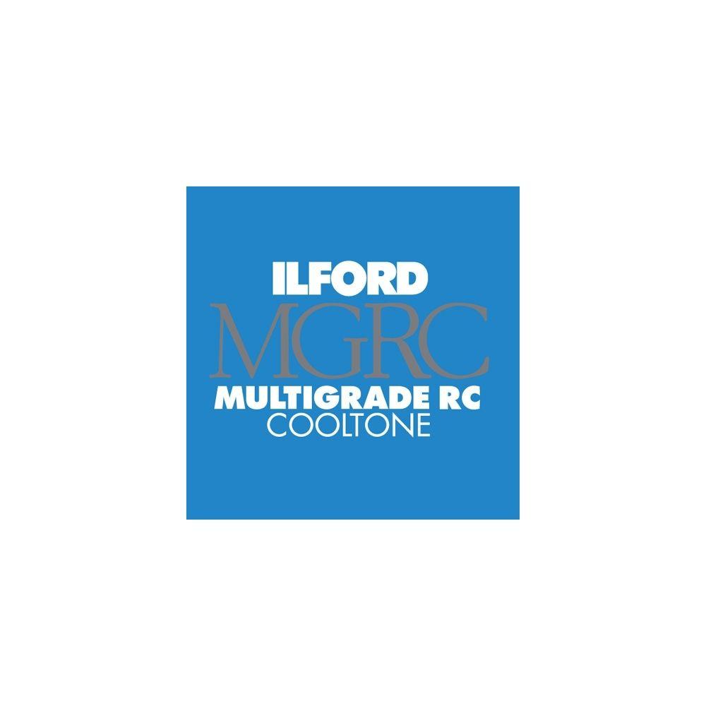 Ilford Photo 20,3x25,4 cm - BRILLANT - 100 FEUILLES - Multigrade RC Cooltone HAR1951868
