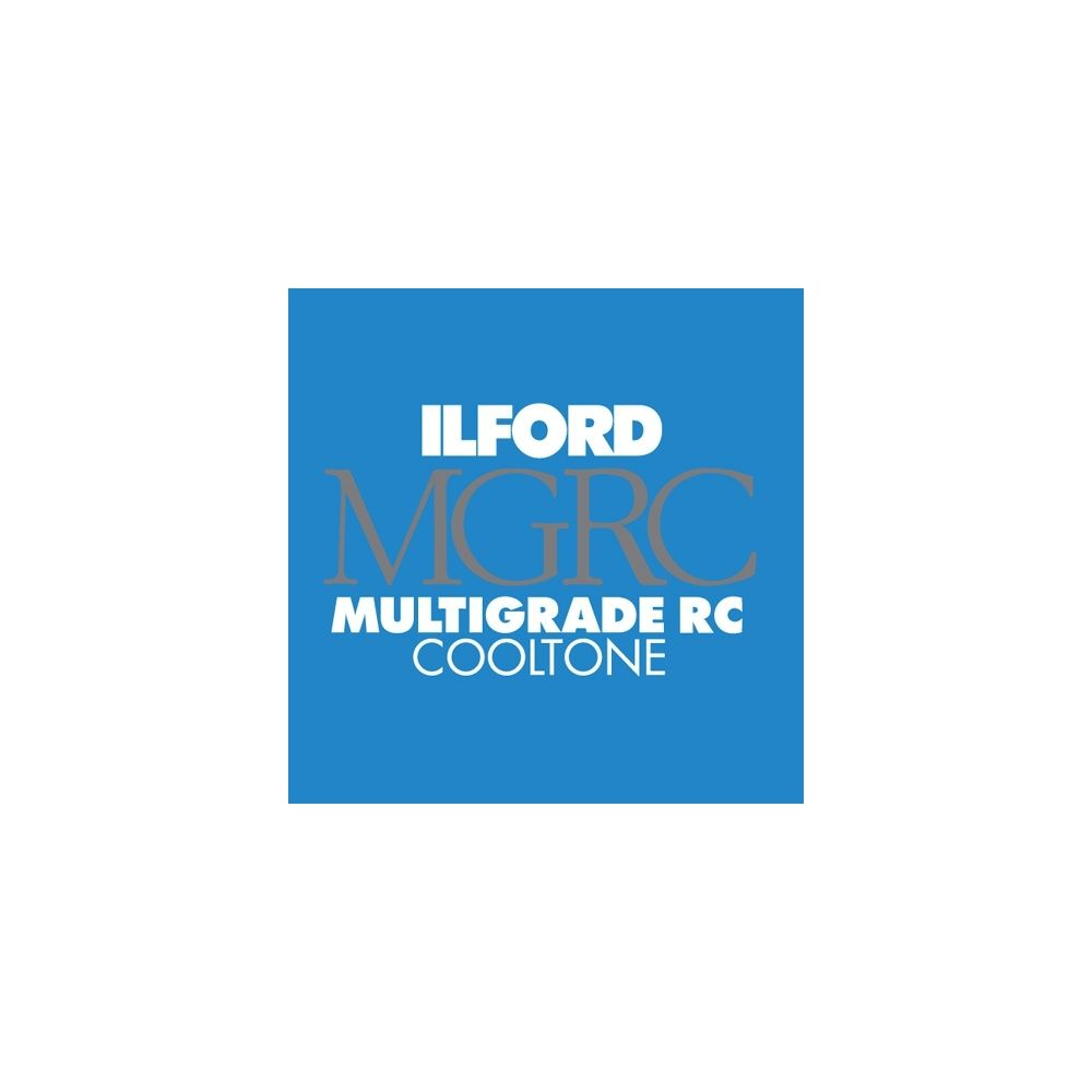 Ilford Photo 24x30,5 cm - BRILLANT - 50 FEUILLES - Multigrade RC Cooltone HAR1951886