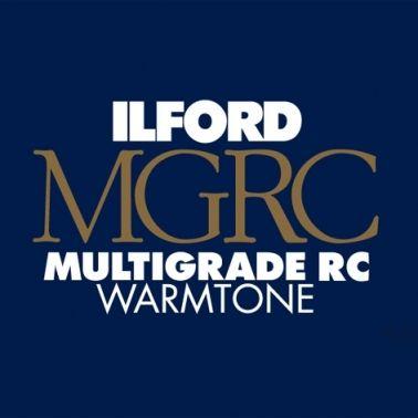 Ilford Photo 20,3x25,4 cm - BRILLANT - 100 FEUILLES - Multigrade RC Warmtone HAR1902303