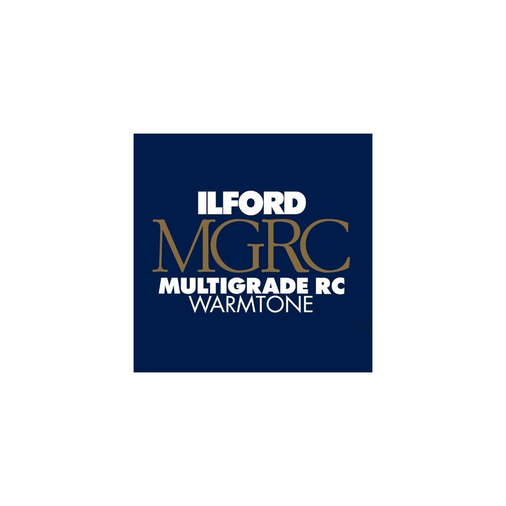 Ilford Photo 30,5x40,6 cm - BRILLANT - 50 FEUILLES - Multigrade RC Warmtone HAR1168888
