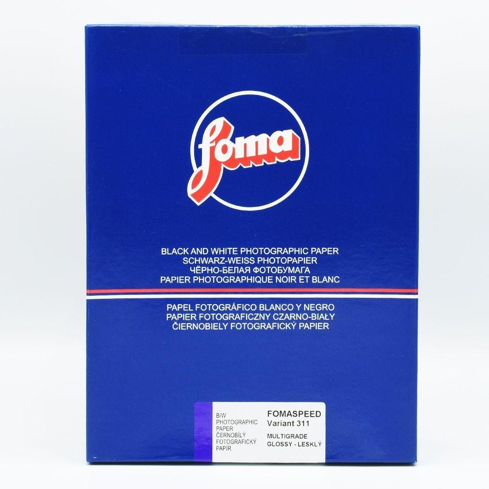 Foma 24x30,5 cm - GLOSSY - 10 SHEETS - FOMASPEED 311 Variant III V29333