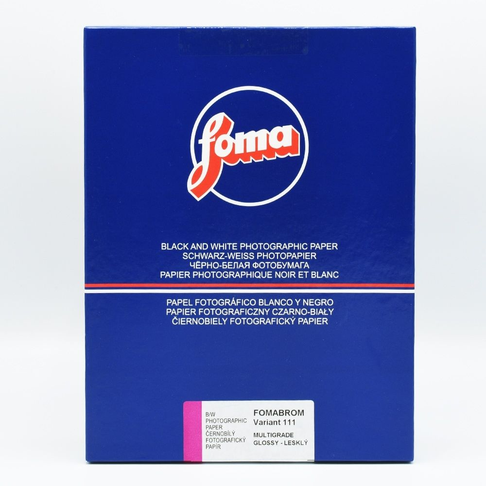 Foma 20,3x25,4 cm - BRILLANT - 25 FEUILLES - FOMABROM 111 VARIANT III V36029