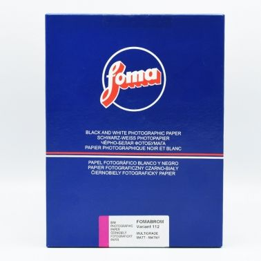 Foma 24x30,5 cm - MAT - 50 FEUILLES - FOMABROM 112 VARIANT III V36135