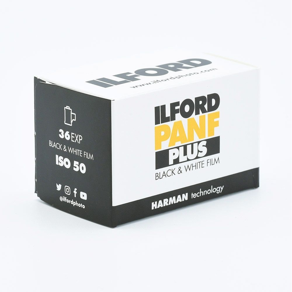 Ilford PAN F Plus 50 135-36