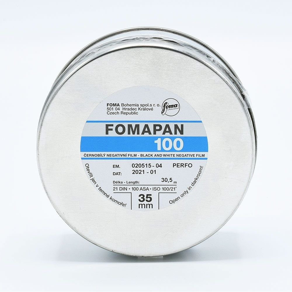 Fomapan 100 Classic 35mm x 30,5m