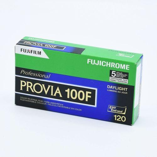 Fujichrome Provia 100F 120 / 5-pack