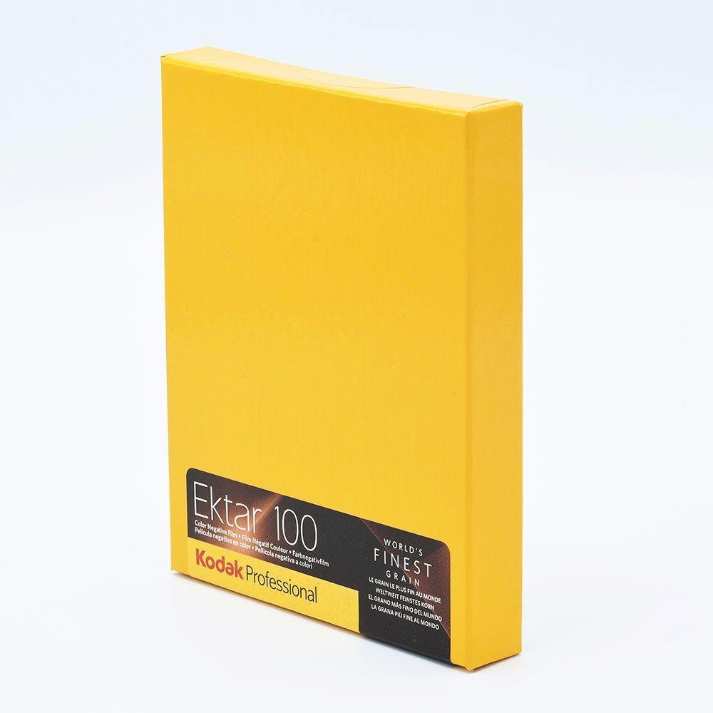 Kodak Ektar 100 4x5 INCH / 10 sheets