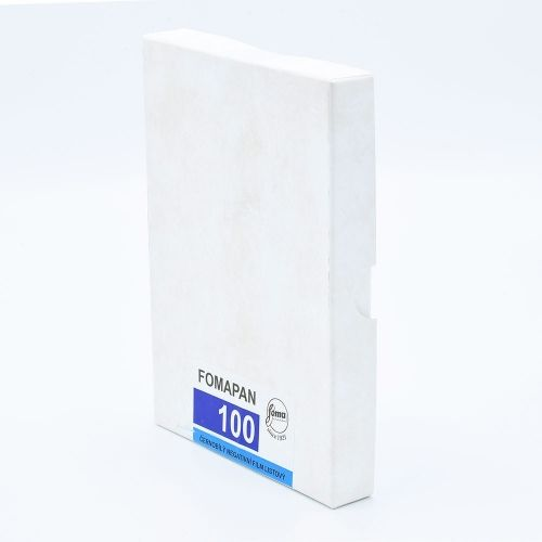 Fomapan 100 Classic 4x5 INCH / 25 sheets