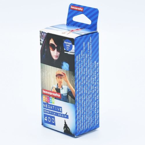 Lomography Color Negative 400 135-36 / 3-pack