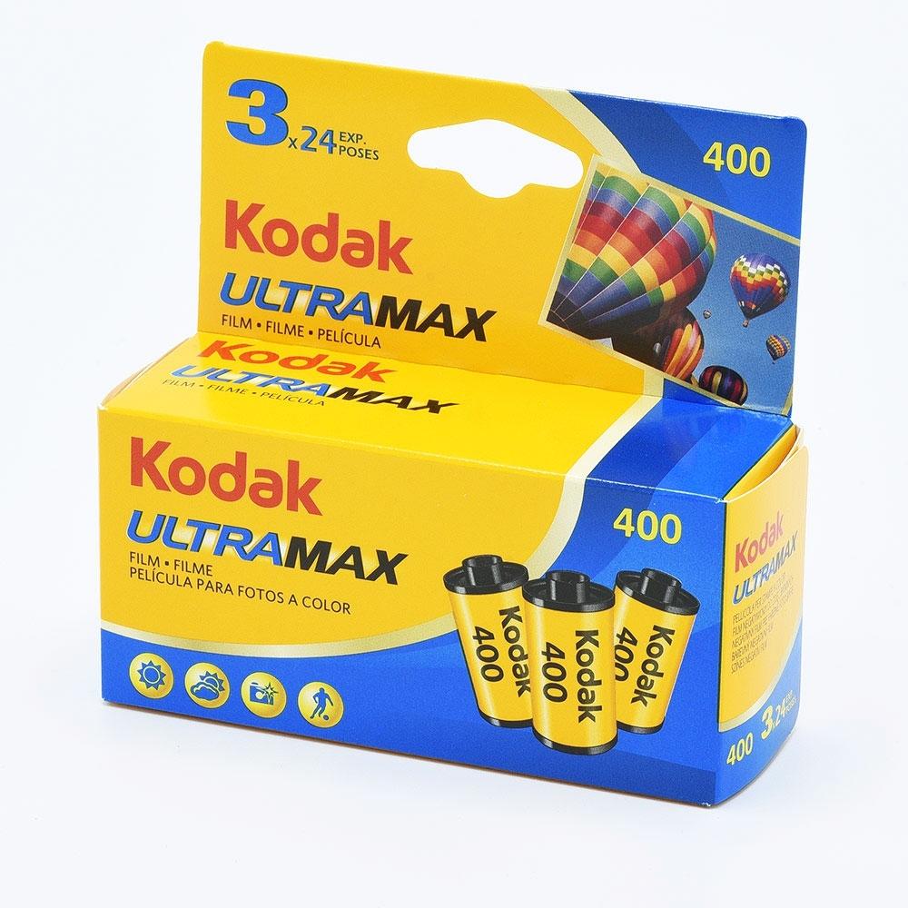 Kodak UltraMax 400 135-24 / 3-pak