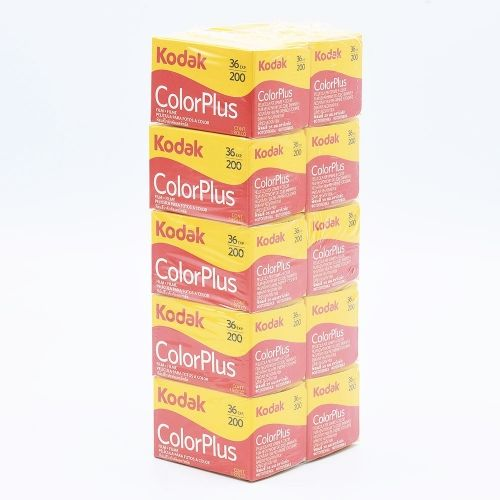 Kodak Color Plus 200 135-36 / 10-pack