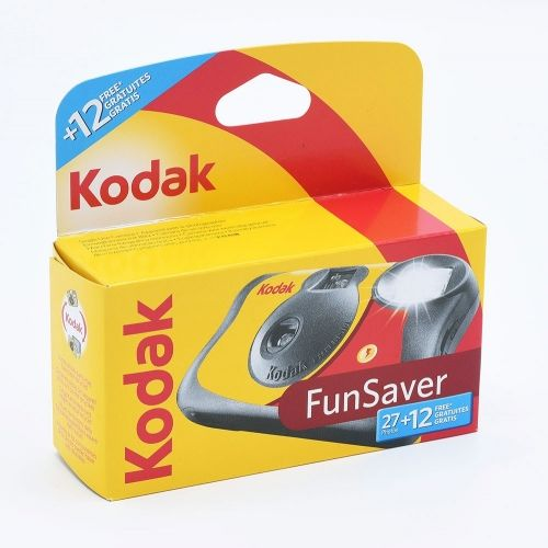 Kodak Fun Saver Single Use Camera / 27+12 exposures