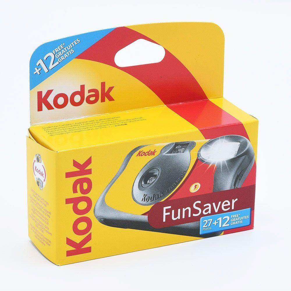 Kodak Fun Saver Single Use Camera / 27+12 exposures