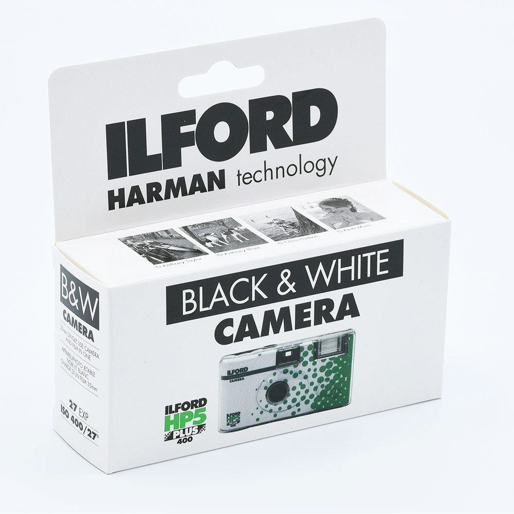 Ilford HP5 Plus B&W Single Use Camera / 27 exposures