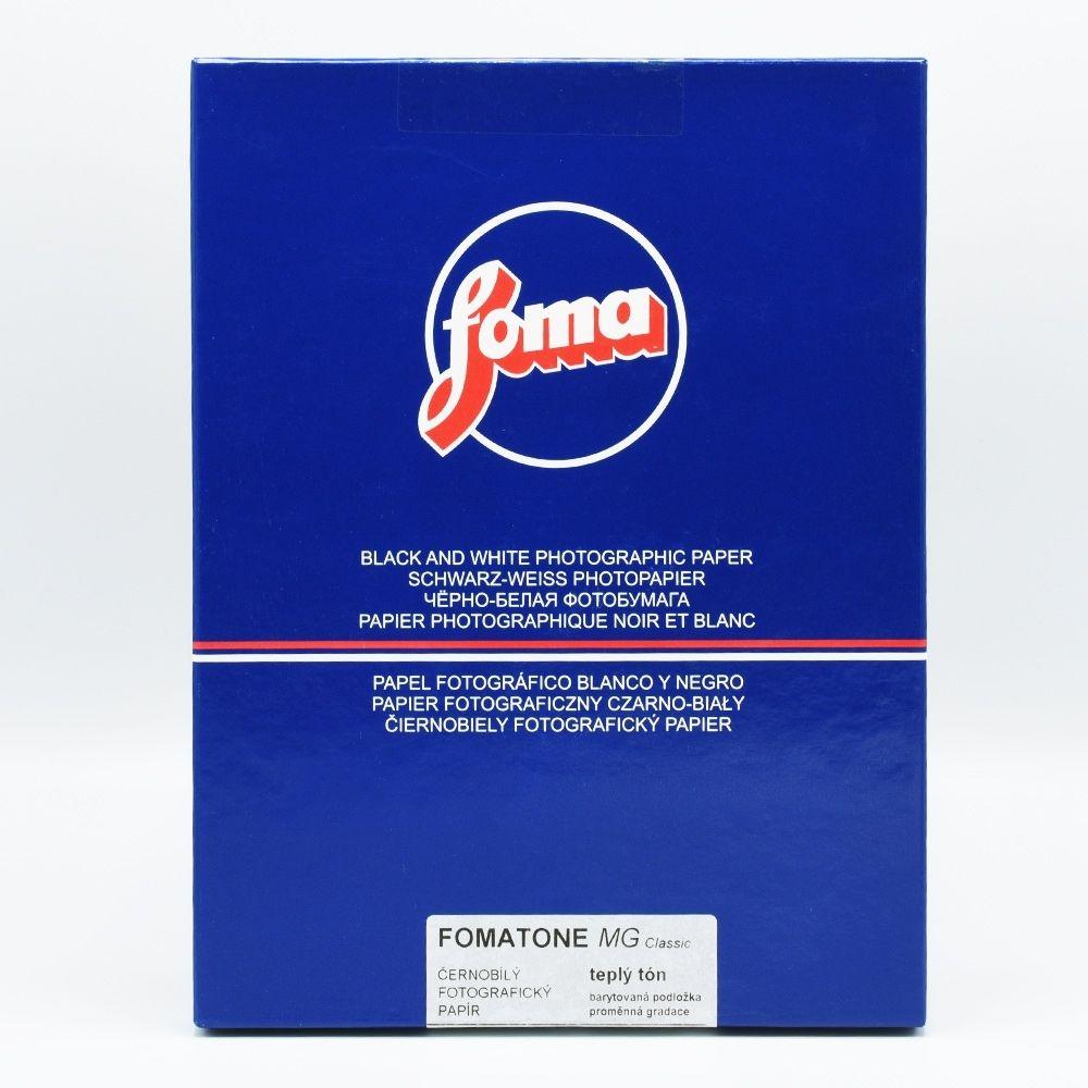 Foma 24x30,5 cm - BRILLANT - 50 FEUILLES - FOMATONE 131 MG Classic V23636