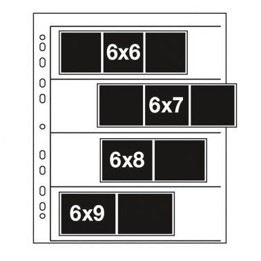 Kenro Negative Storage Pages 120 Film - Clear - 100 pcs