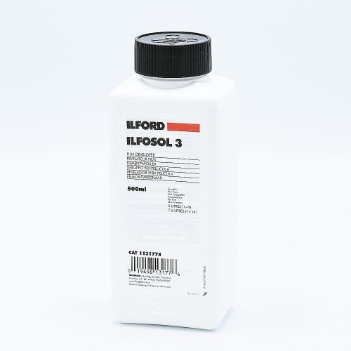 Ilford Ilfosol 3 Film Developer - 500ml