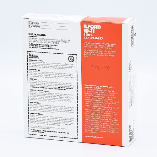 Ilford ID-11 Révélateur Film - 1L