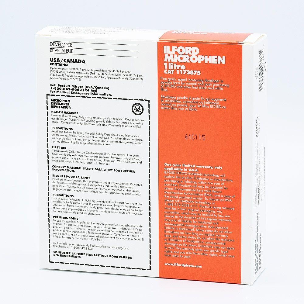 Ilford Microphen Film Developer - 1L