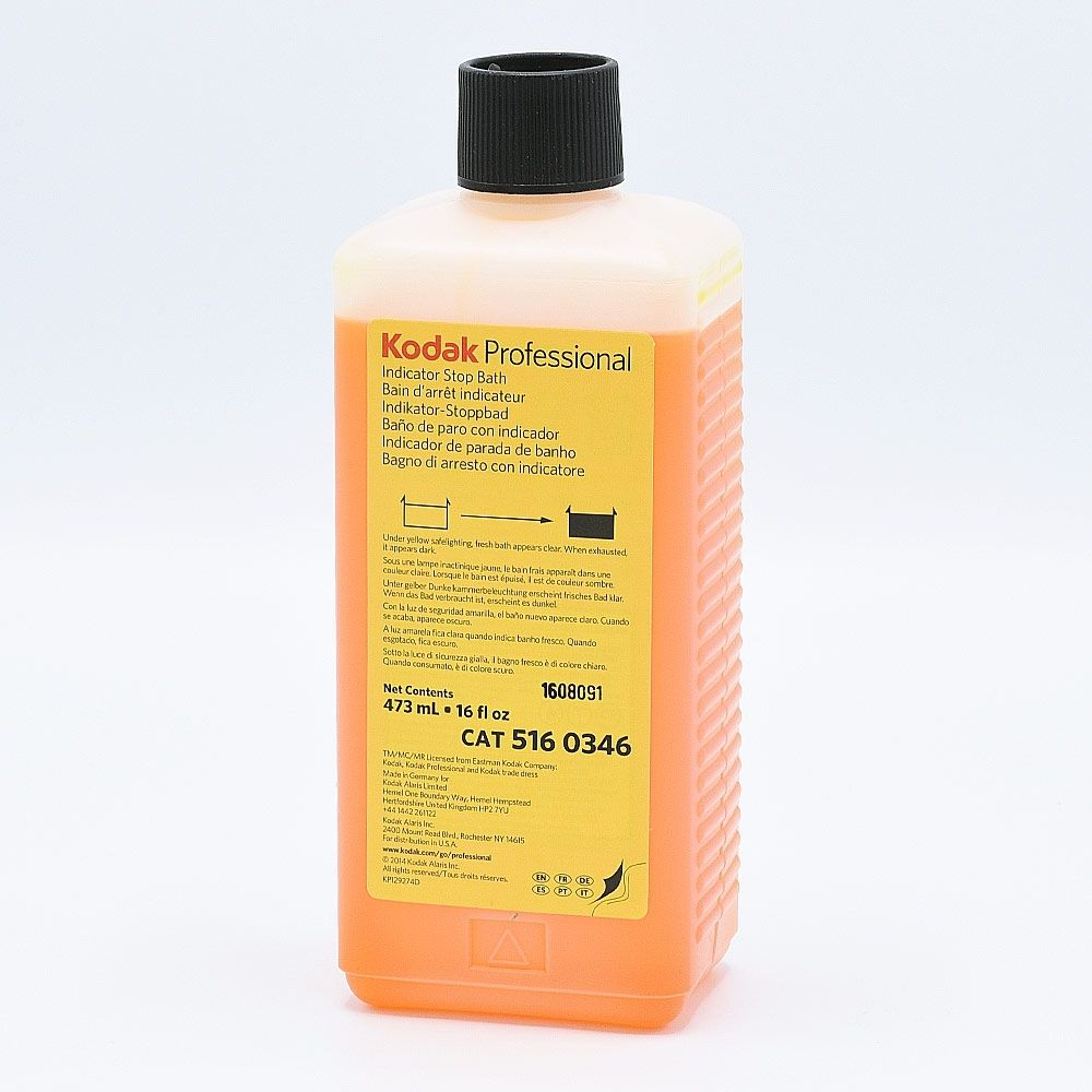 Kodak Indicator Stop Bath - 473ml