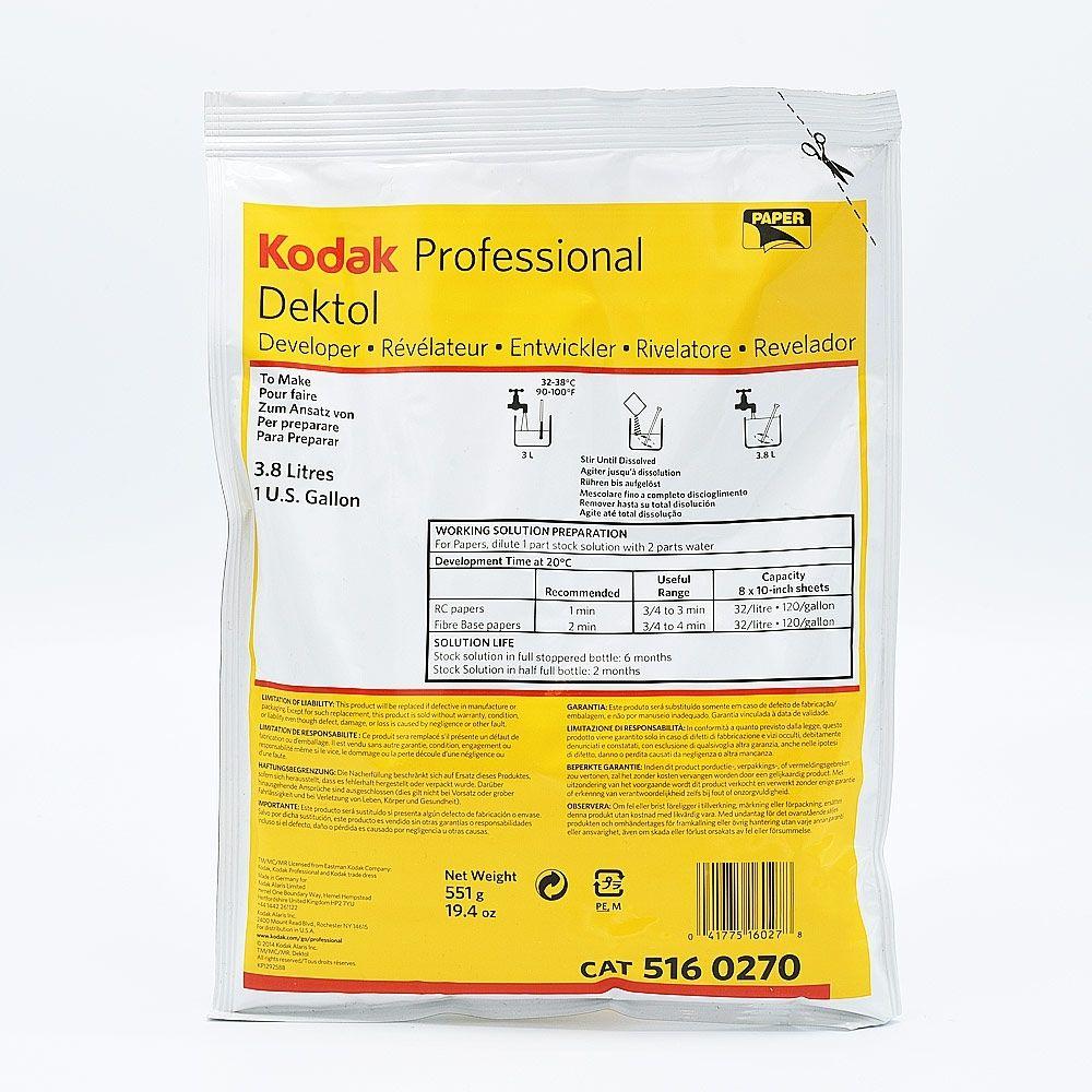 Kodak Dektol Paper Developer - 3.8L