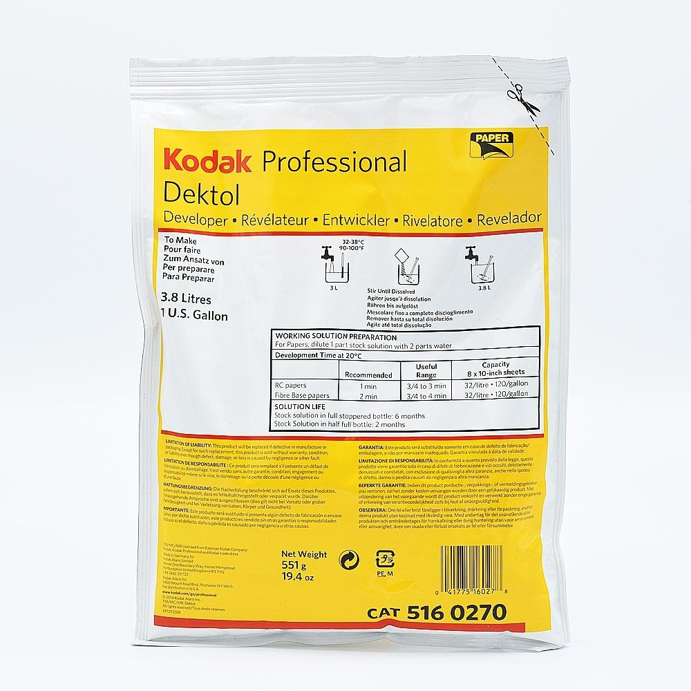 Kodak Dektol Papierontwikkelaar - 3.8L
