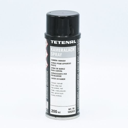 TETENAL CAMERA VARNISH Spray (KAMERALACK) / Black - 200ml