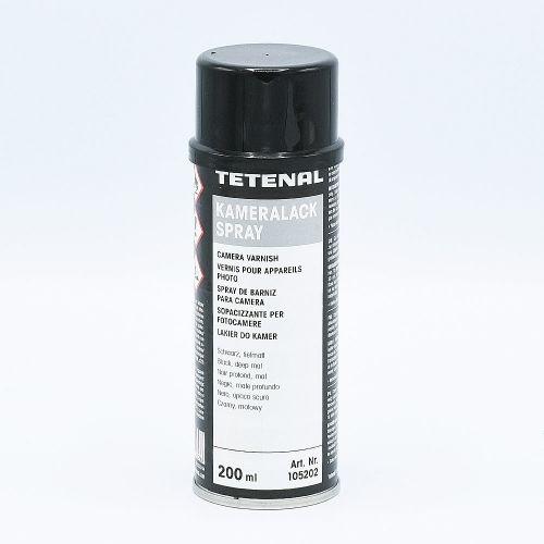 Tetenal Vernis pour Appareil Photo Spray (Kameralack) / Noir - 200ml