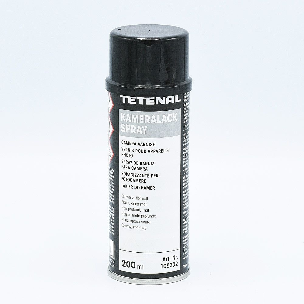 Tetenal Camera Varnish Spray (Kameralack) / Zwart - 200ml