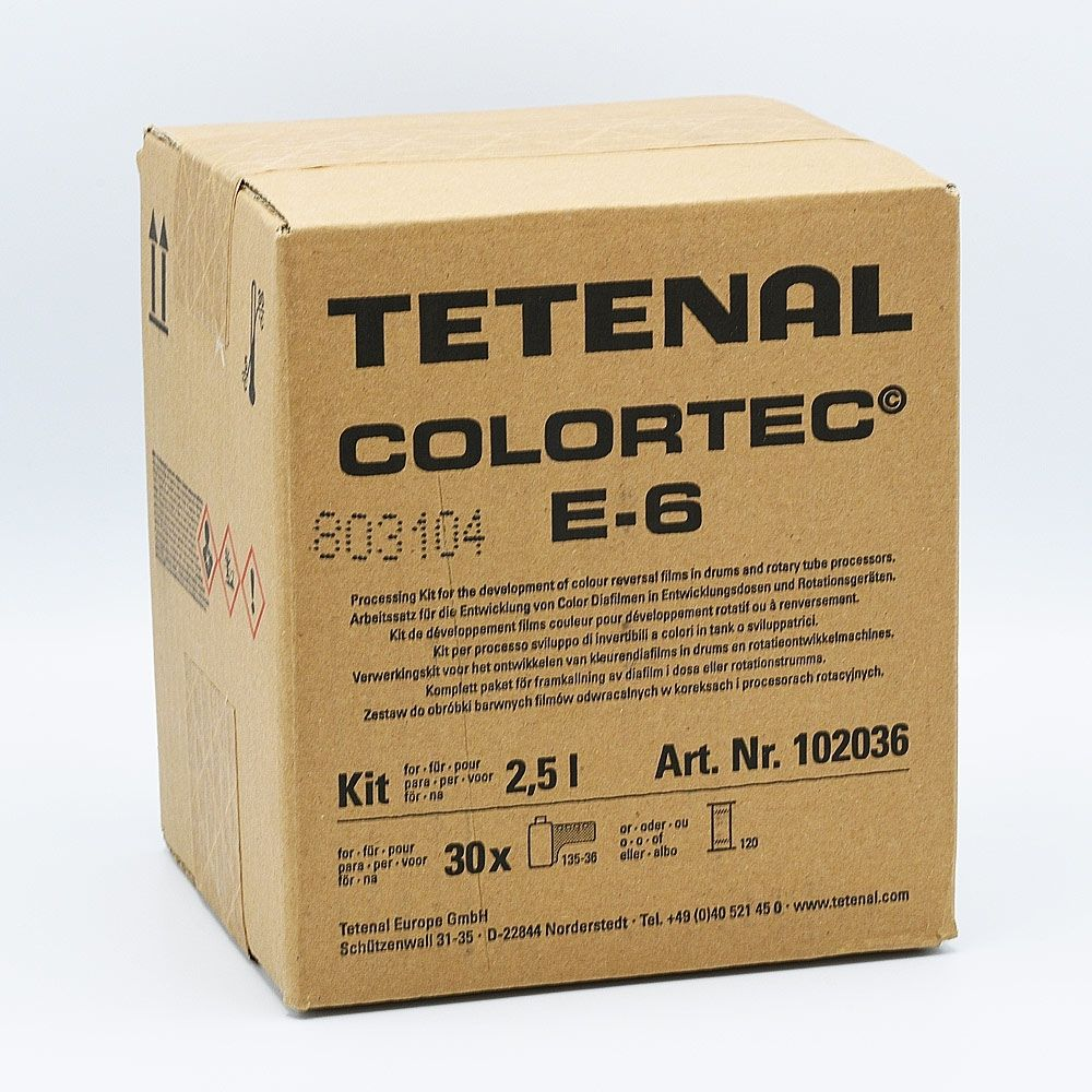 Tetenal Colortec E-6 Color Slide Film Processing Kit - 2.5L