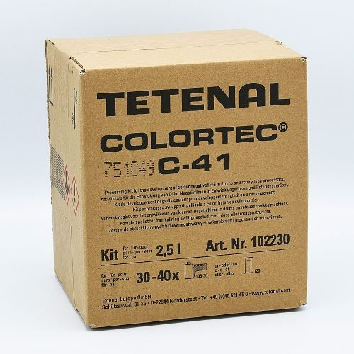 Tetenal Colortec C-41 Rapid Color Film Processing Kit - 2.5L