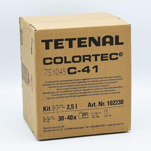 Tetenal Colortec C-41 Rapid Color Film Processing Kit - 2.5L