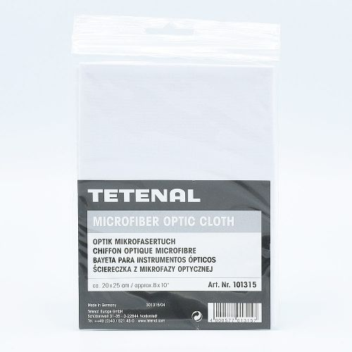 TETENAL Microfiber Optic Cloth / White - 20x25cm