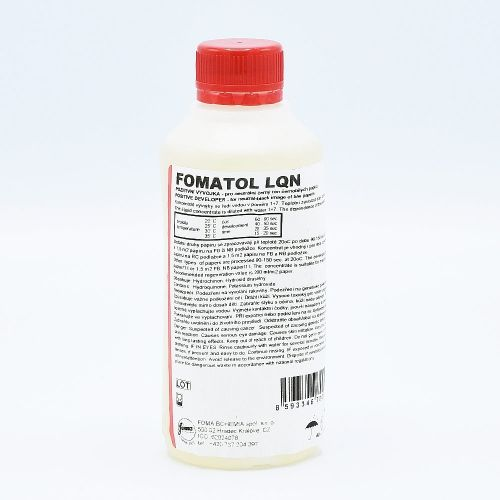 Fomatol LQN Paper Developer - 250ml