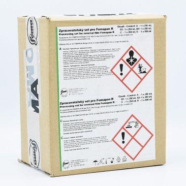 Foma R100 B&W Reversal Kit de Développement - 8x330ml