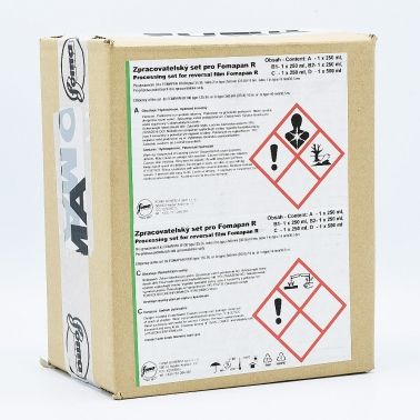 Foma R100 B&W Reversal Ontwikkelkit - 8x330ml