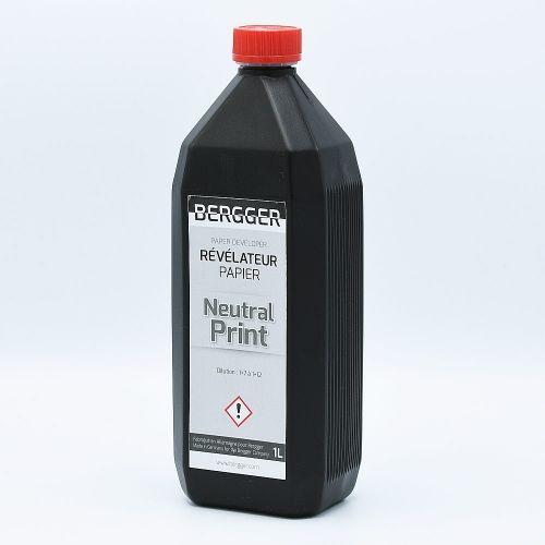 Bergger Neutral Print Révélateur Papier - 1L