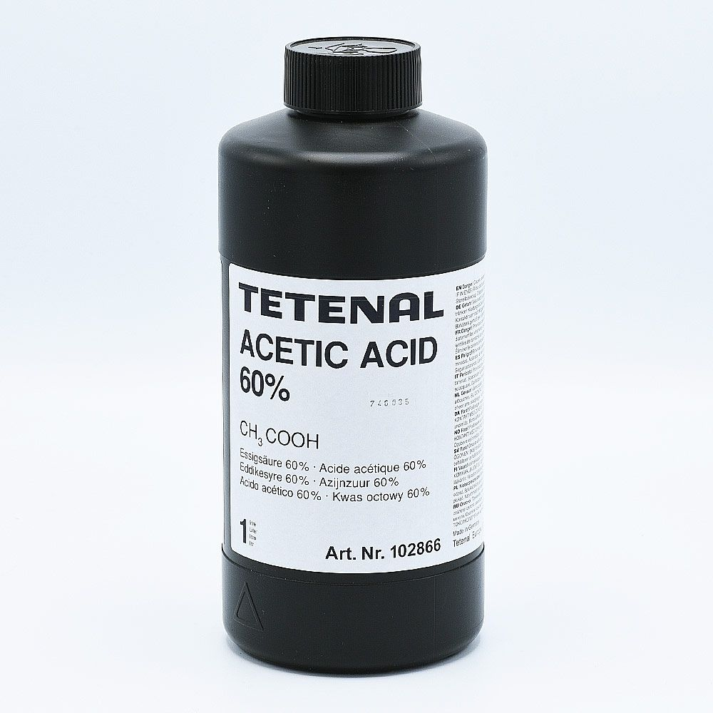 Tetenal Acetic Acid 60% Stop Bath - 1L
